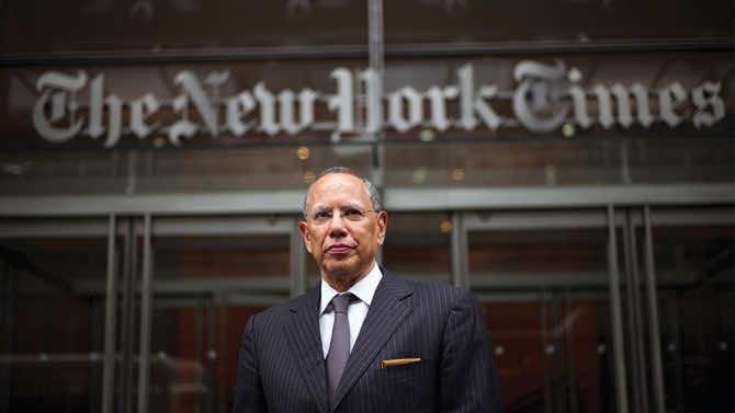 New York Times editor, Dean Baquet