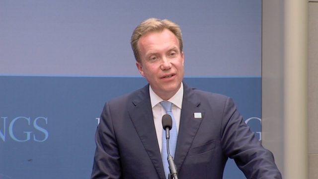 Norwegian Foreign minister, Borge Brende