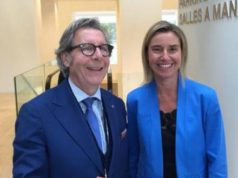 Pargneaux and Federica Mogherini