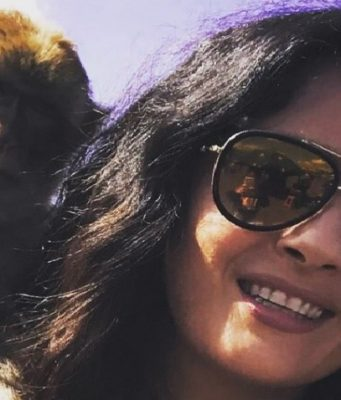 Photo of Mexican-American Actress Salma Hayek in Morocco Goes Viral