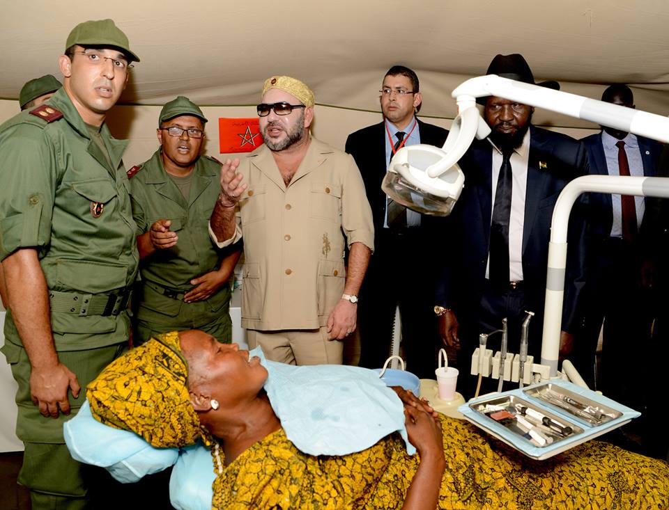 Photos of King Mohammed VI in Military Uniform Go Viral