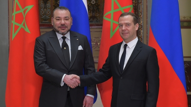 Russia's Prime Minister Dmitry Medvedev to Visit Morocco