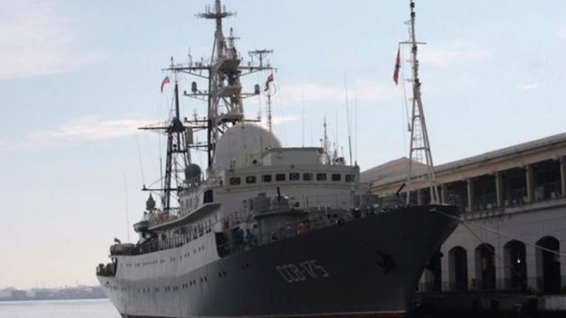 Russia Deploys Cruise Missile off Cost of US