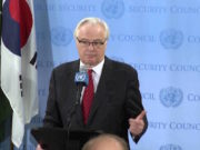 Russia's Ambassador to the UN, Vitaly Churkin