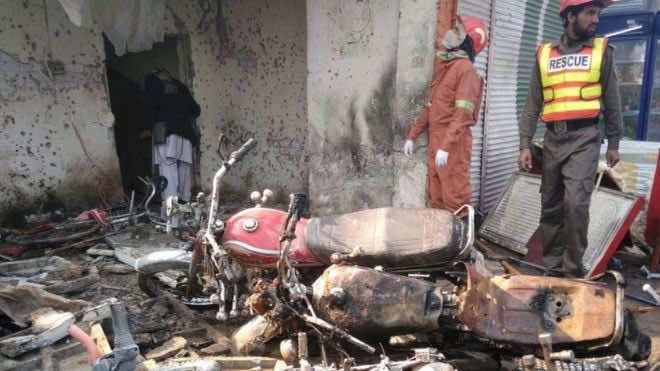 Suicide Bombing Kills 13 in Peshawar, Pakistan