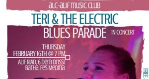 Teri and the Electric Blues Parade to Perform in Fes
