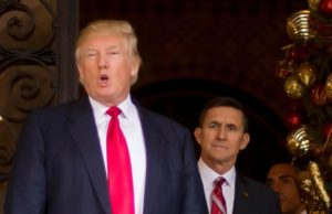 donald trump and michael flynn, talking about immigrants and immigration