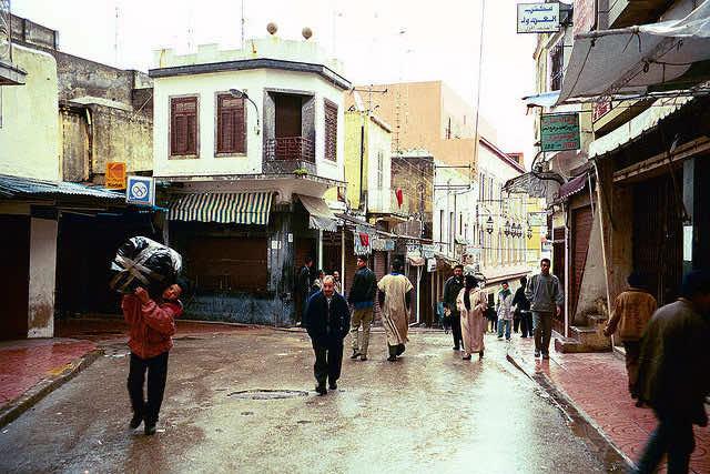 rain morocco