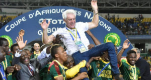 the Cameroonian football team's winning of the 31st edition of the African Cup of Nations