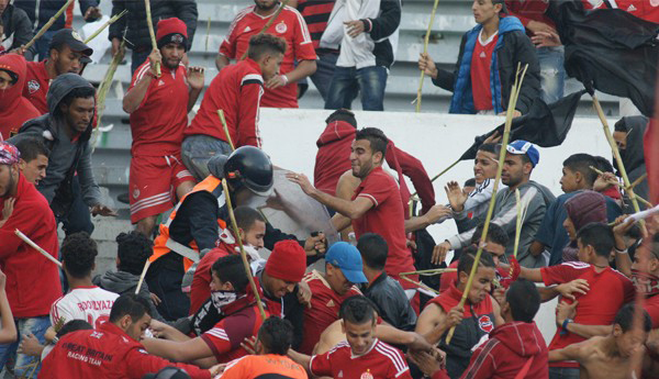 16 People Arrested for Vandalism Acts Following Football Match in Morocco