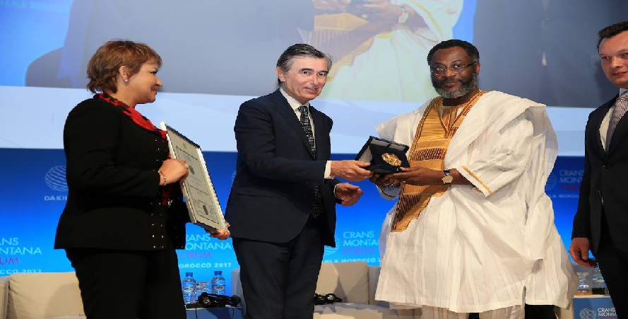 Awards of excellence Handed Out at Crans Montana Forum