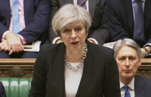 """British PM Theresa May Says Attack a """"Perversion of a Great Religion"""""""
