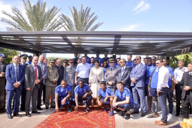 Crystal Palace Relaxes in Agadir Palace