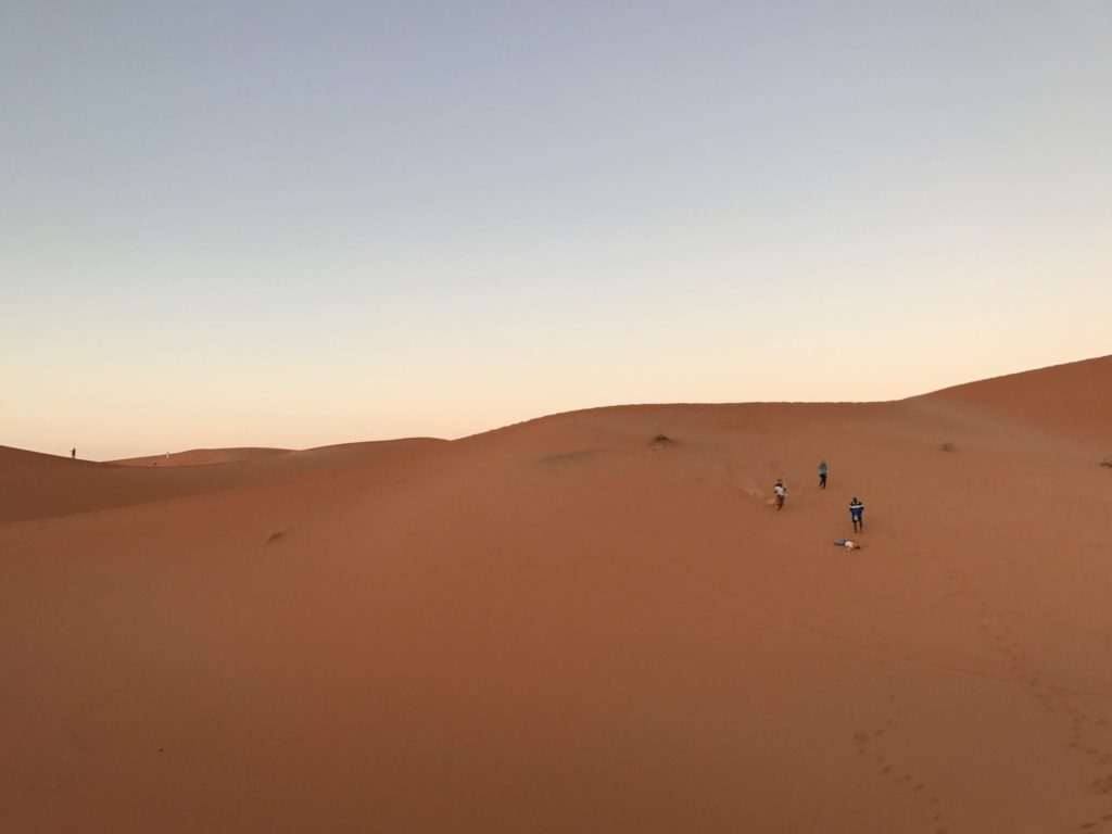 Dawn to Dusk in the Dunes of Marzouga