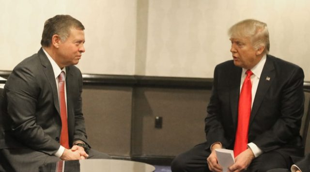 Donald Trump to Host Jordan's King Abdullah on April 5: White House