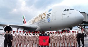 Emirates Airbus A380 Starts Flying to Morocco
