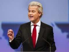 Dutch far-right and anti-Islamist deputy, Geert Wilders