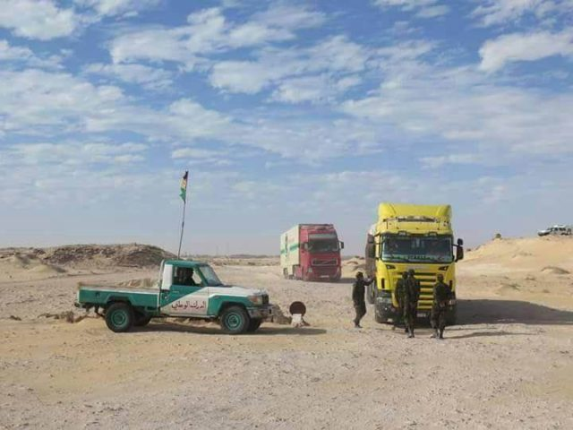 Polisario Blocks Moroccan Football Fans from Crossing Mauritanian-Moroccan Border