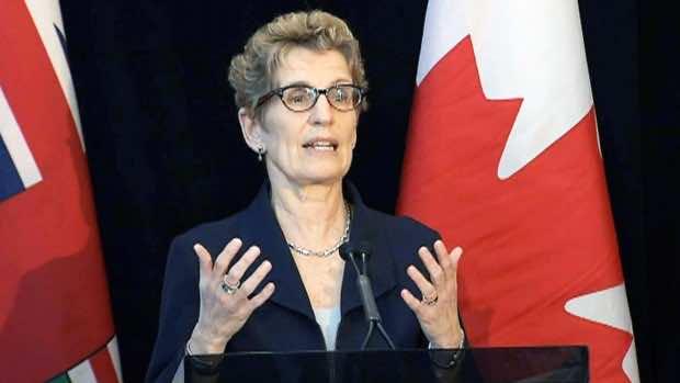 Kathleen Wynne, the Premier of Ontario