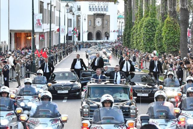 In Pictures King Mohammed VI Reserves Warm Welcome to Jordan's King Abdullah II