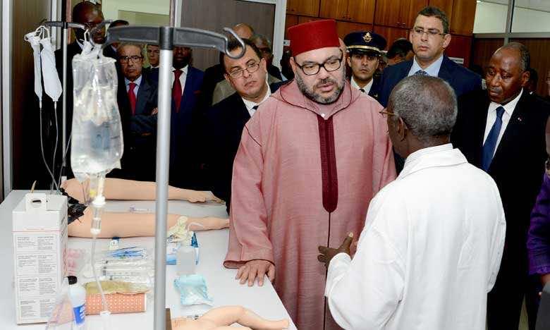 King Mohammed VI Inaugurates Emergency Medicine Training Center in Abidjan.