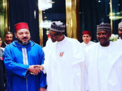 King Mohammed VI Inquires About Nigerian President's Health