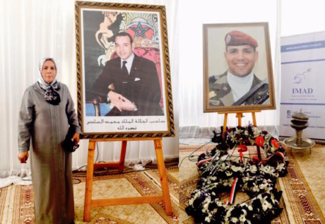 King Mohammed VI Pays Tribute to Mother of a Victim of Terrorism