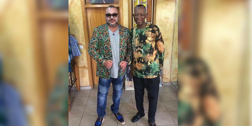 King Mohammed VI Sports Stylish Look in Abidjan