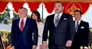 King Mohammed VI with King Abdullah II