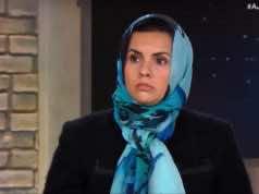 Libyan activist Zahra Langhi