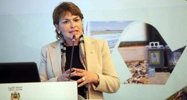 Minister delegate for the environment Hakima El Haite