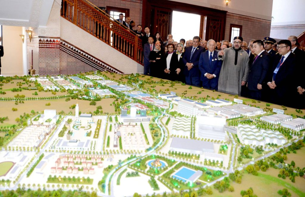 Mohammed VI Tangiers Tech City project