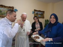 Moroccan Family in Milan Welcomes Pope Francis