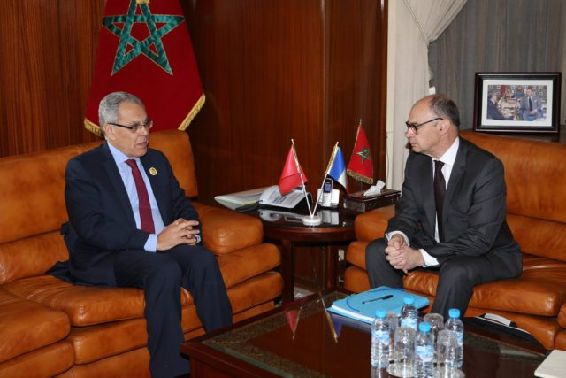 Moroccan and French Defense Officials Meet in Rabat