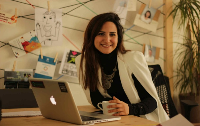 Moroccan-born Samia Haimoura is Finailst for Vodafone Female Acceleration Program