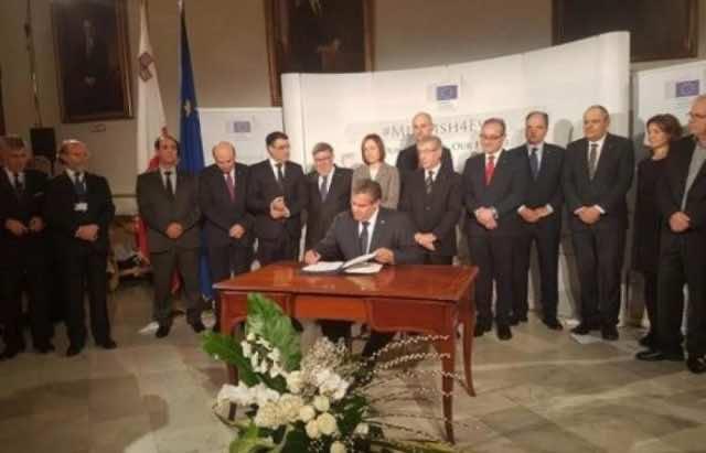 Morocco Signs Malta's Ministerial Declaration 'MedFish4Ever'