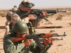 Morocco's Special Forces Train with US Army