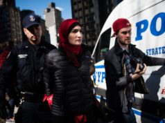 Muslim Activist Linda Sarsour Arrested at International Women's Day Protest