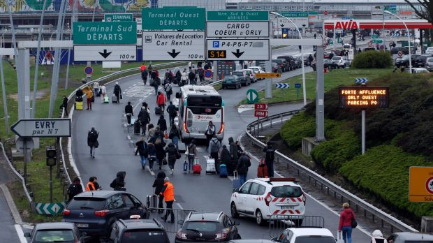 Normality Returns to Orly Airport Following Saturday Shooting