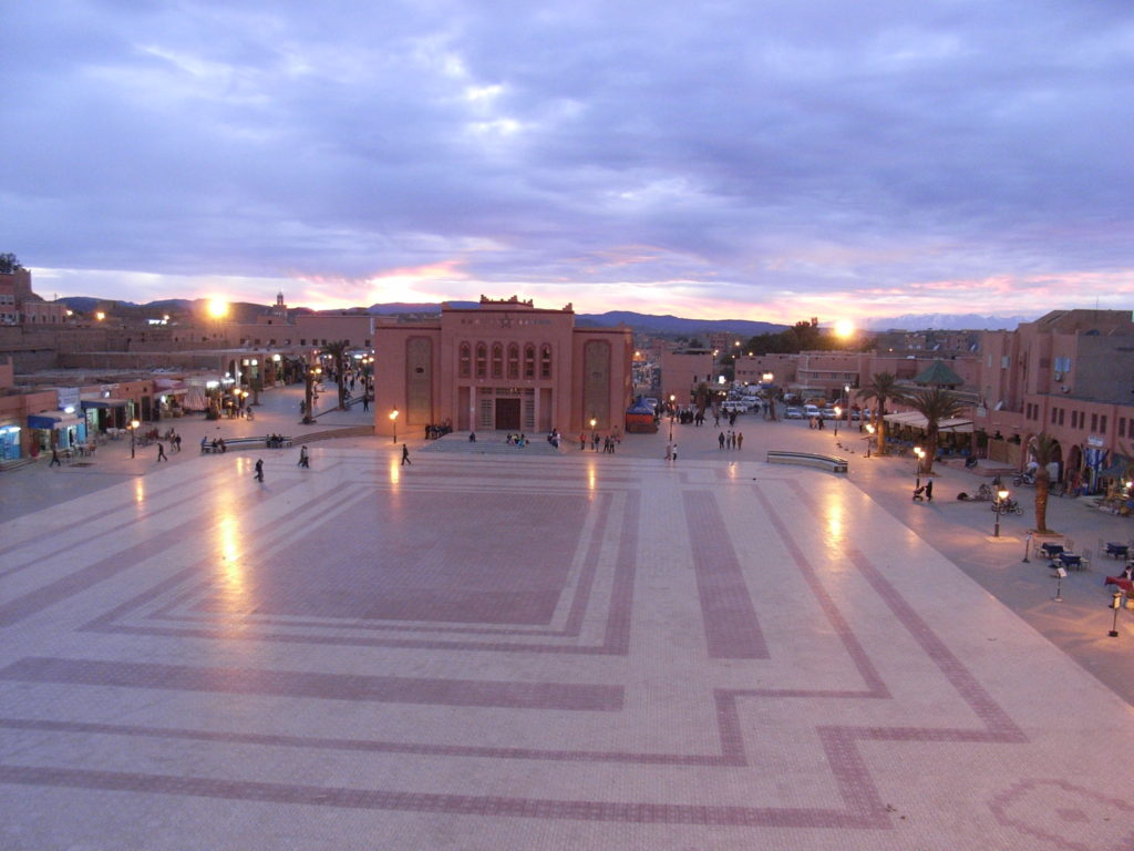 Ouarzazate Grand Place