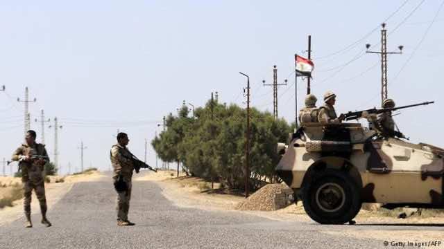 Roadside Bombings Kill 10 Soldiers in Egypt