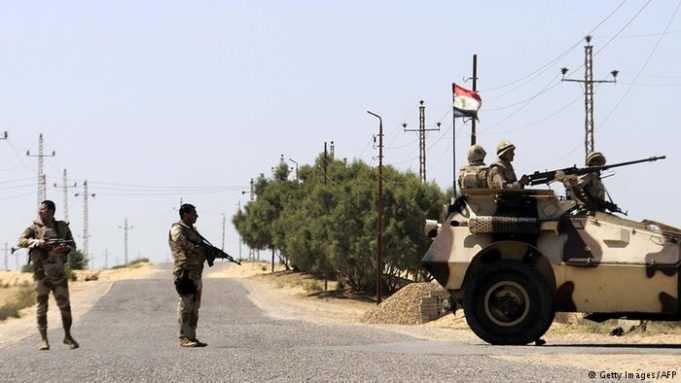 Roadside Bombings Kill 10 Soldiers in Egypt