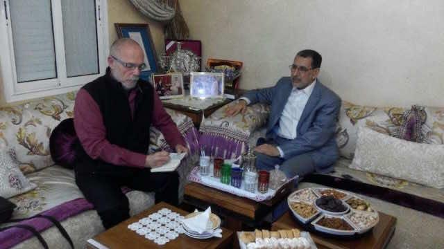 Saad Eddine Othmani, Correo Diplomatico
