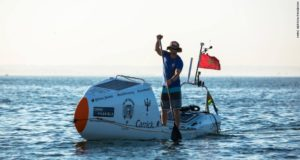 South African Surfer First to Cross Atlantic Ocean on Stand-up Paddle Board