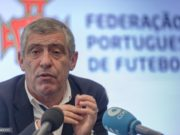 The Portuguese national football coach, Fernando Santos
