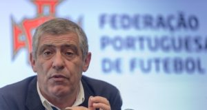 The Portuguese national football coach, Fernando Santos