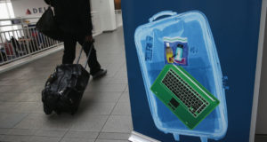 US electronics flight ban