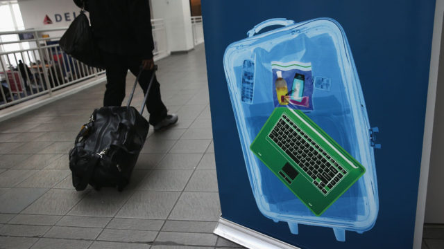 US electronics flight ban