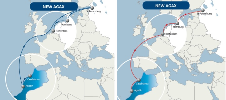 Weekly Direct Shipping Service Launched Between Morocco and Russia
