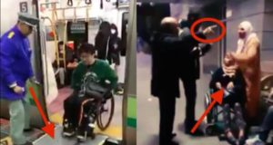Woman with Special Needs Barred from Boarding Train